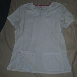White womans scrub top. Never worn